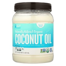 Better Body Foods Naturally Refined Organic Coconut Oil - Case Of 4 - 56 Fz - $83.96