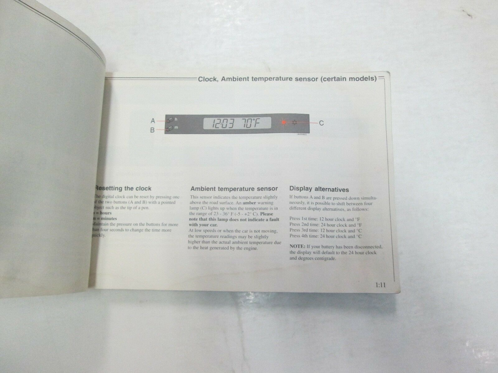 1996 Volvo 850 Owners Manuell Set Wasser Beschädigt Neu Fabrik OEM Buch 96 *** image 9