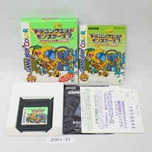 Nintendo Gameboy Color Dragon Quest Monsters 2 Ruka Caja Laboral Japón 2... - $19.99