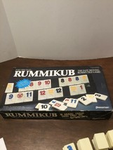 1990 Pressman Rummikub Rummy Tile Game 100% Complete in Box - $20.00