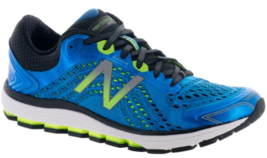 New Balance 1260 v7 Size 10.5 M (D) EU 44.5 Men's Running Shoes Bolt Blue Lime