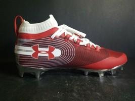 Under Armour Sportlight Red White Lacrosse Cleats Size: 9.5 3020675-600 Men - $59.39