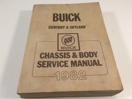 1982 Buick Century & Skylark Factory Shop OEM Chassis  & Body Service Ma... - $14.99