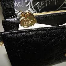 Betsey Johnson Sequin Jeweled Heart Flap Shoulder Bag image 7