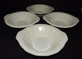 4 Homer Laughlin Classic White Colonial Dinner Cereal Soup Bowls in Dover CW100 - $39.59