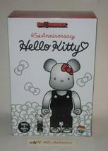 100% & 400% Hello Kitty 45TH Anniversary Be@Rbrick Medicom Toy D-CON Sanrio - $237.47