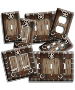 RUSTIC COUNTRY LONE STAR HORSESHOE COWBOY LIGHT SWITCH OUTLET WALL PLATE... - $10.99+