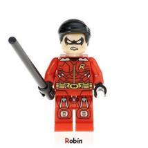 Robin Minifigure Marvel DC Figure Super Hero Single Sale Lego Toys - $1.99