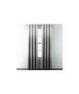 (1) NEW JC PENNEY HOME Sullivan Ombre CHARCOAL BLACKOUT Grommet 50 x 84 ... - $39.79