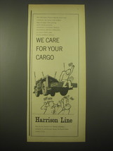 1966 Harrison Line Ad - We care for your cargo - $14.99
