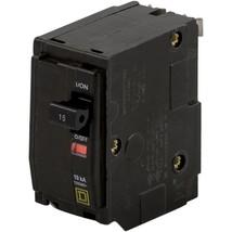 Square D QO 15-Amp 2-Pole Standard Trip Circuit Breaker- QO215CP - $9.50