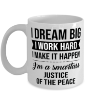 Justice of the Peace Coffee Mug - 11 oz Tea Cup For Office Co-Workers Men  - $14.95