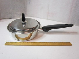 Regal 3 Ply 8-8 Heavy Stainless Steel 1 Quart Sauce Pan With Lid, USA - $22.95