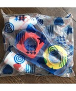 Vintage Johnson & Johnson Toys Shape Interactive Brand new In Bag 5 Pcs - $45.53