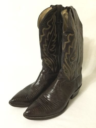 02daee91156 Justin Exotic Lizard Mens Cowboy Boots Size and 50 similar items