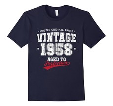Vintage 1958 Birthday Gift T-Shirt Athletic Dept Men - $17.95+