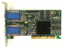 Dell Matrox 0608UX G45+MDHA32D/DEL AGP Dual VGA Video Card - $29.55