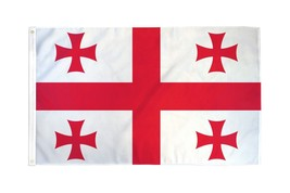 "GEORGIA 3X5' FLAG NEW 3'X5' 3 X 5 FEET 36X60"" BIG - $9.85"