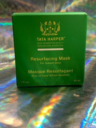 1 Oz. Tata Harper Resurfacing Mask NEW WITH BOX Instantly Restores Radiance