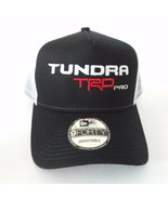 New TRD PRO TOYOTA TUNDRA Hat Cap 9FIFTY NEW ERA BLACK WHITE - £19.21 GBP