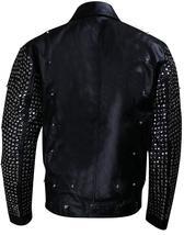 WWE Chris Jericho (Y2J) Light Up Black Studded Leather Jacket image 5