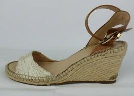 Vince Camuto Tesa Damen Keilabsatz Espadrille Sandalen Elfenbein Größe 8M - $29.24