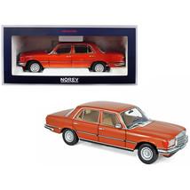 1976 Mercedes Benz 450 SEL 6.9 Metallic Orange 1/18 Diecast Model Car by... - $141.20