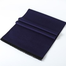 New Fashion Warm Thicken Solid Color Scarf for Men Collar Winter Cashmer... - £13.58 GBP
