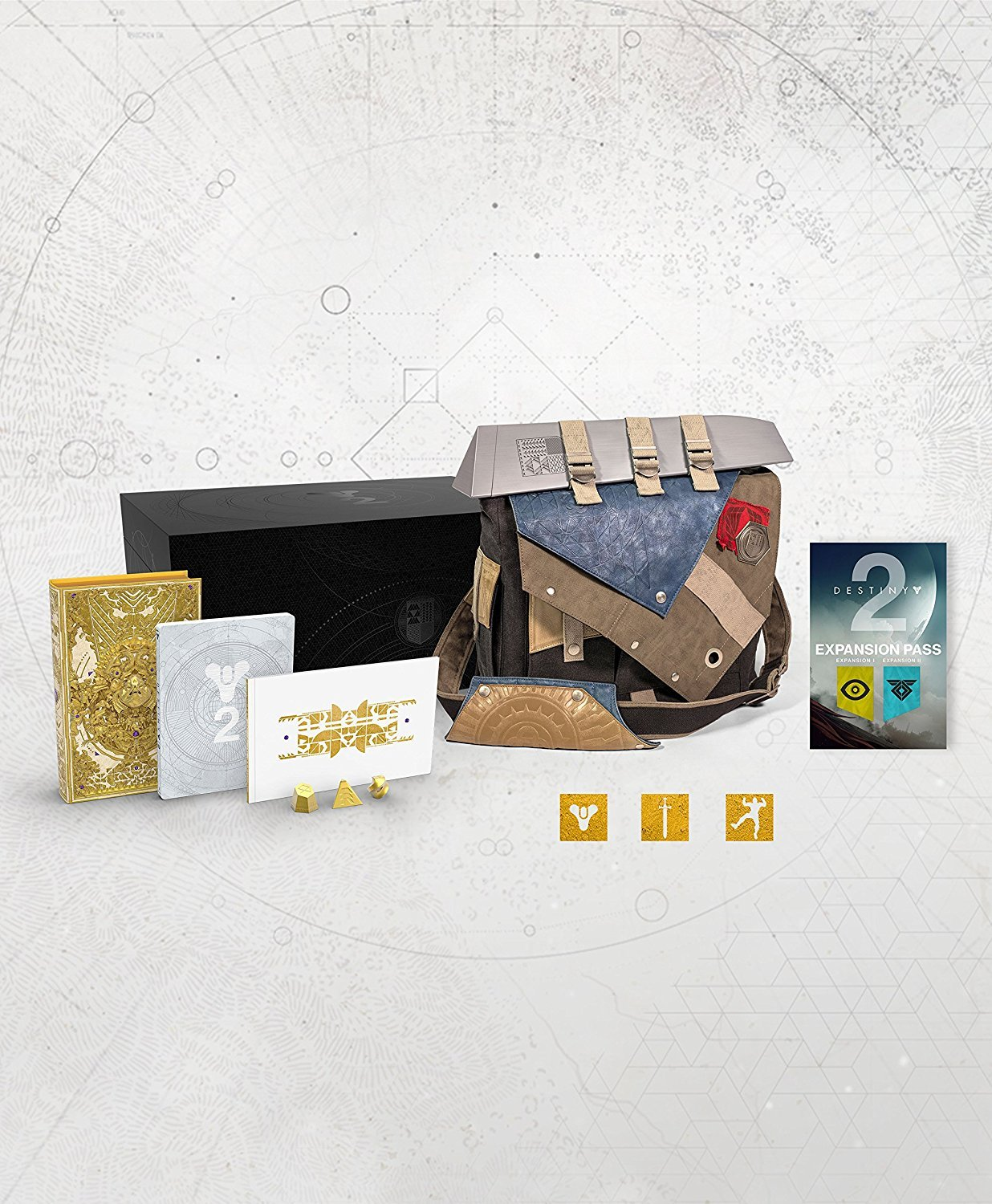 Destiny 2 Collector's Edition XBOX ONE /w Frontier Bag EUROPEAN UK Region ONLY