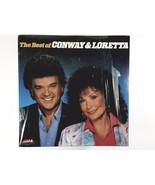The Best Of Conway & Loretta vinyl msm 35106 2 disks set  - $12.56