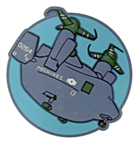 USMC VMM-264  EH  Plumpter PVC Patch- With Hook and Loop - $15.83