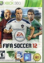 FIFA Soccer 12 (Microsoft Xbox 360, 2012) disc and Case  - $5.95