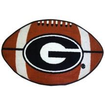 "NCAA GEORGIA BULLDOGS FOOTBALL RUG FLOOR MAT 20.5 ""X 32.5"" FANMATS MAN CAVE - $16.82"