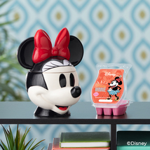 Scentsy Minnie Mouse Warmer + wax bar - $75.00