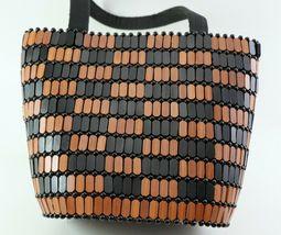 Wood Bead Purse Bucket Type image 6