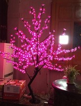 5 Ft 1.5 M LED Cherry Blossom Tree Wedding Garden Holiday Xmas Light Pink home  - $339.00