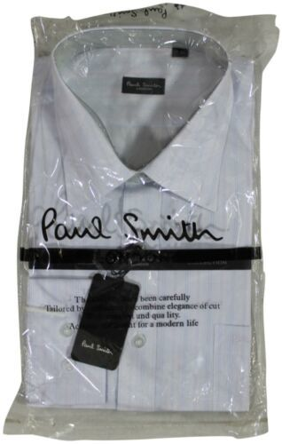 Primary image for New PAUL SMITH Button Front DRESS SHIRT 18-44 London Collection Long Sleeve NWT