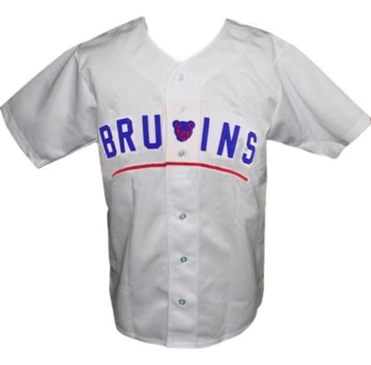 Des moines bruins retro baseball jersey 1948 button down white   1