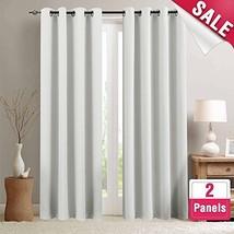 Room Darkening Curtains for Bedroom 84-inch Length Light Reducing Window... - $34.94