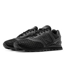 New Balance 574 Re-Engineered Breathe Solid, Black, 8.5 M US - $99.00