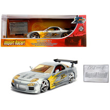 New 1993 Mazda RX-7 Raw Metal Import Racer! Jada 20th Anniversary 1/24 D... - $50.45