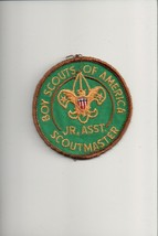 Boy Scouts of America Jr. Asst. Scoutmaster patch - $5.94