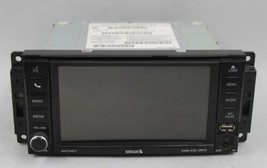 18 19 DODGE CHRYSLER RB2 INFO TOUCH DISPLAY SCREEN UNCONNECT RADIO DVD OEM - $237.59