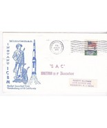 SAC MINUTEMAN II F BOOSTER ROCKET LAUNCHED VANDENBERG AFB CA AUGUST 3 1970 - £1.50 GBP
