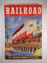 Vintage Railroad Magazine October 1952 Train on Cover - $12.82