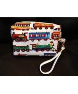 Clutch Bag/Wristlet/Makeup Bag - Trains, locomotive - $29.95