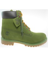"""TIMBERLAND A1M72 MEN'S 6"""" CLASSIC PREMIUM OLIVE GREEN WATERPROOF BOOTS - $97.90+"""