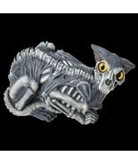 Life Size Gothic Horror ZOMBIE CAT PROP Halloween Prop Haunted House Dec... - $19.77