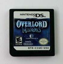 DS Overlord Minions (Nintendo DS, 2009) Cartridge Only Tested - $5.95