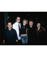 2002 TARAN KILLAM, BOBBY TERRY & KATHRYN FIORE Candid Original 35mm Slide - $12.69
